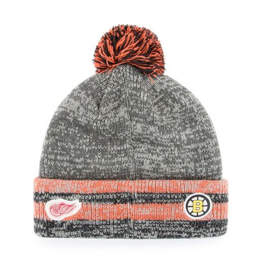 Original Six 47 Henrick Cuff Pom Knit Toque
