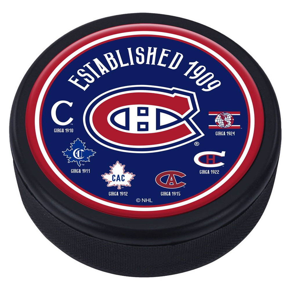 Montreal Canadiens Heritage Domed Puck