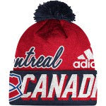 Montreal Canadiens Adidas Red Blue Cuffed Knit Hat
