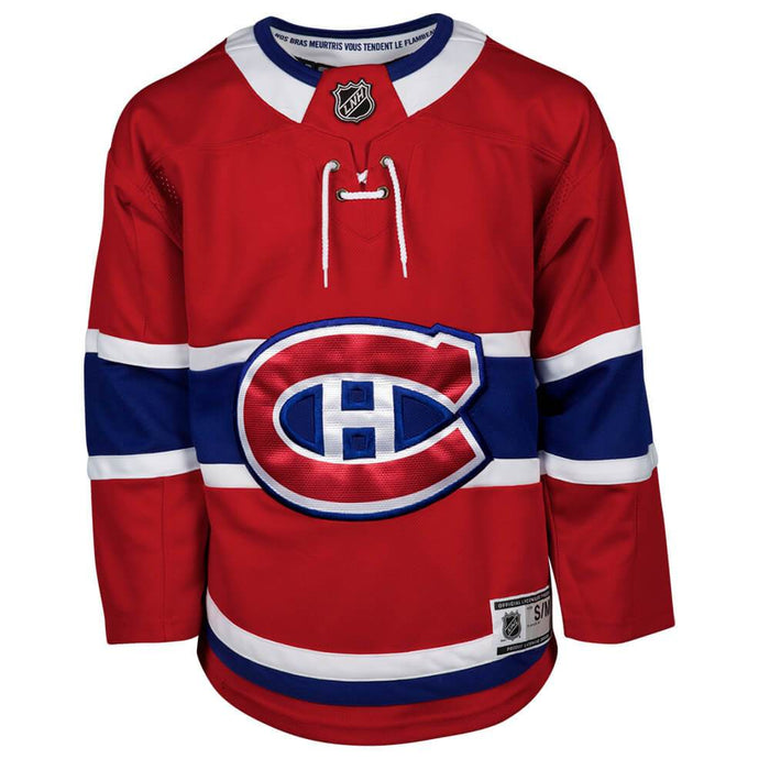 Montreal Canadiens Youth Red Premier Home Jersey