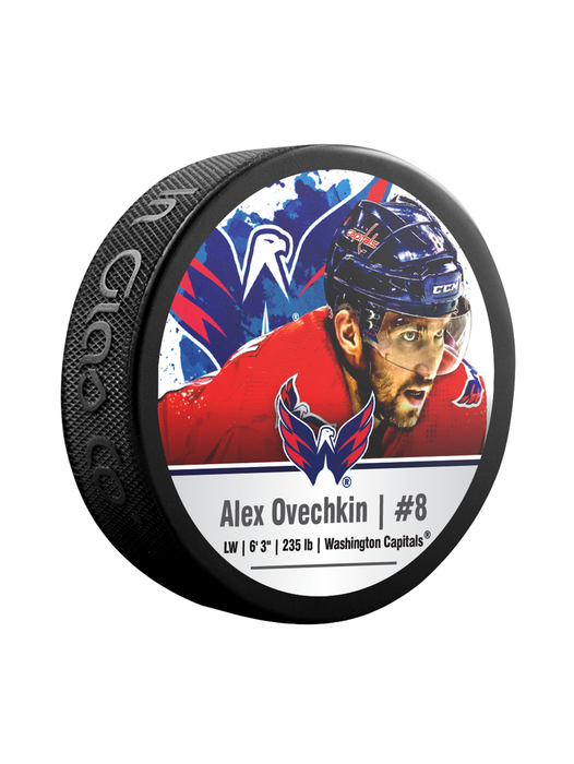 Alexander Ovechkin Washington Capitals NHL Cube Star Puck