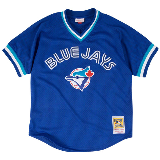 Joe Carter #29 Toronto Blue Jays Mitchell & Ness BP Navy Jersey