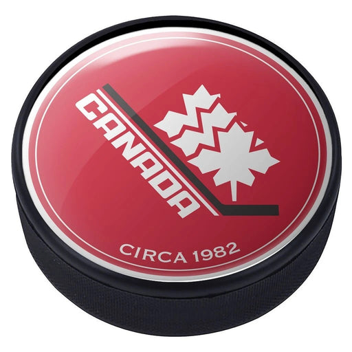 Team Canada Vintage 1982 Domed Puck