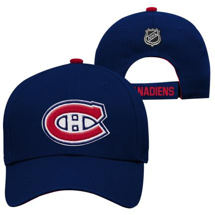 Montreal Canadiens NHL Youth Basic Struct Adjustable Hat
