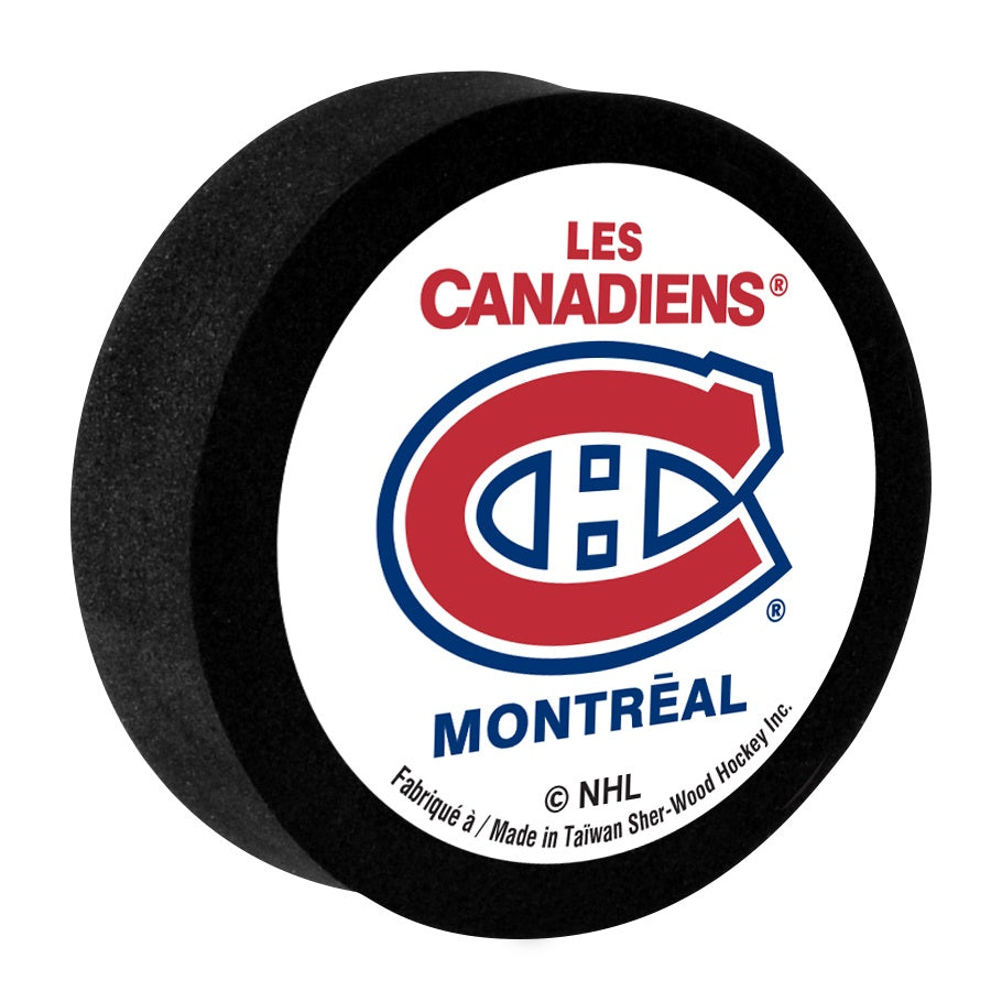 Montreal Canadiens NHL Foam Puck