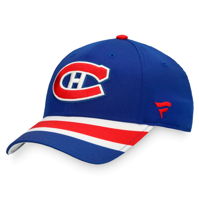 Montreal Canadiens Fanatics Blue 2020/21 Special Edition Structured Adjustable Hat