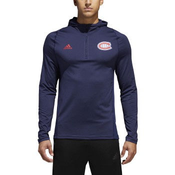 Montreal Canadiens Adidas Navy Training Hoodie
