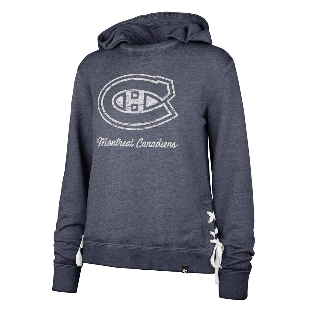 Montreal Canadiens 47 Blue Sideline Lace Pullover