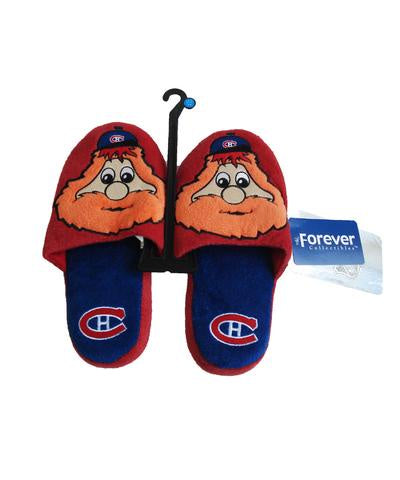 Montreal Canadiens Youth Youppi Slippers