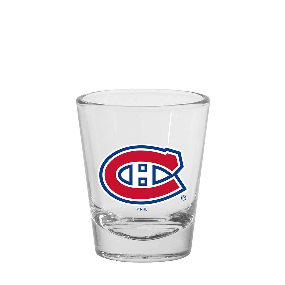 Montreal Canadiens 1.5oz Round Shot Glass