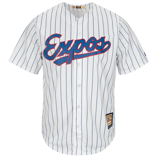 Montreal Expos Cooperstown 1982 Baseball Pinstripe Jersey Majestic