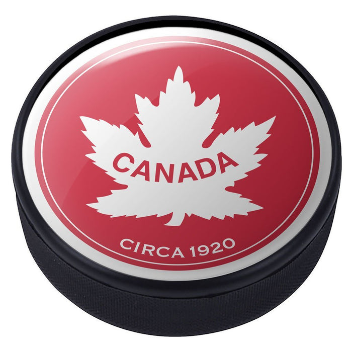 Team Canada Vintage 1920 Domed Puck