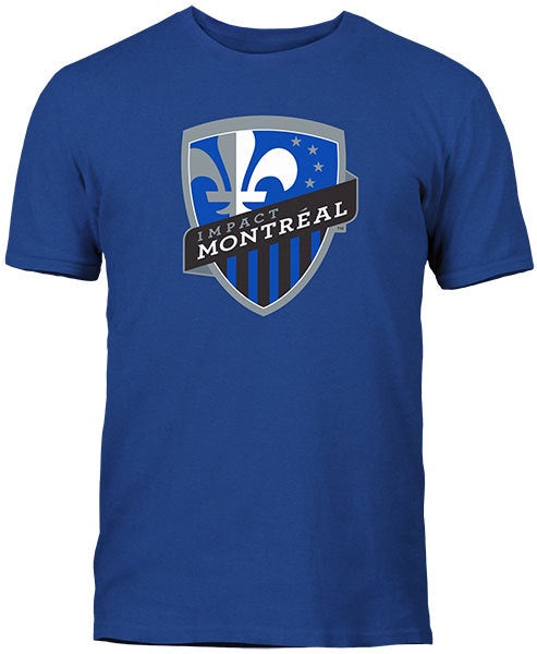 Youth Montreal Impact Soccer MLS Royal Blue T-Shirt