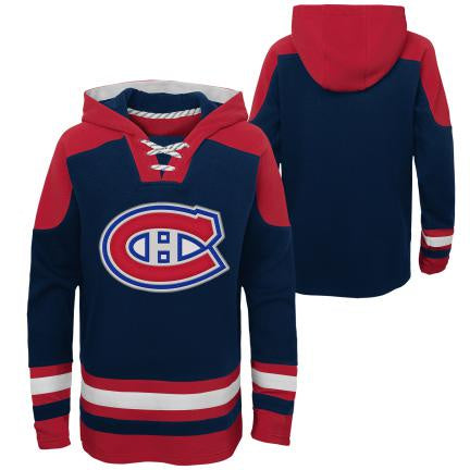Montreal Canadiens Youth Navy Ageless Must Have Hockey Hoodie