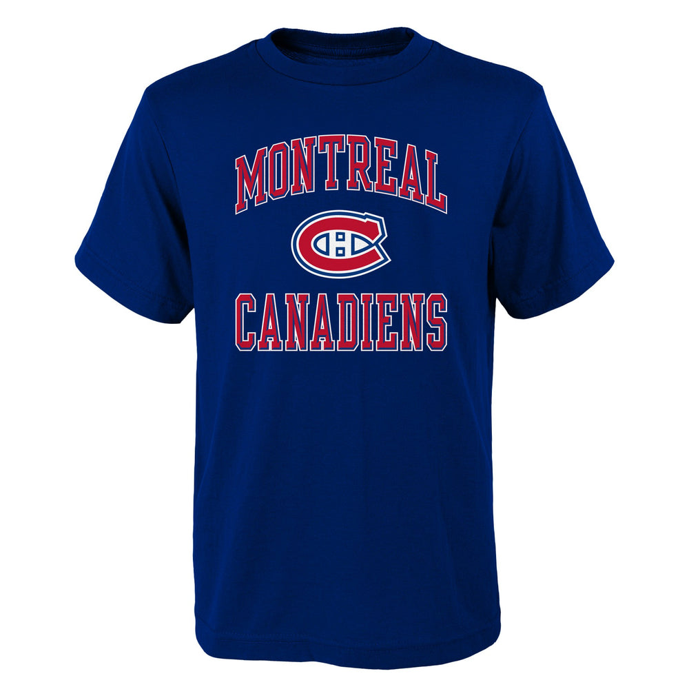 Montreal Canadiens Ovation Basic Navy T-Shirt