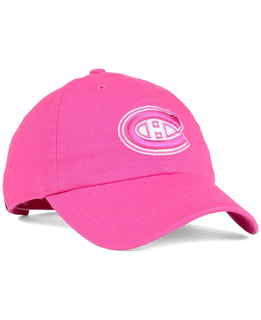 Montreal Canadiens Girls Pink Tonal Slouch