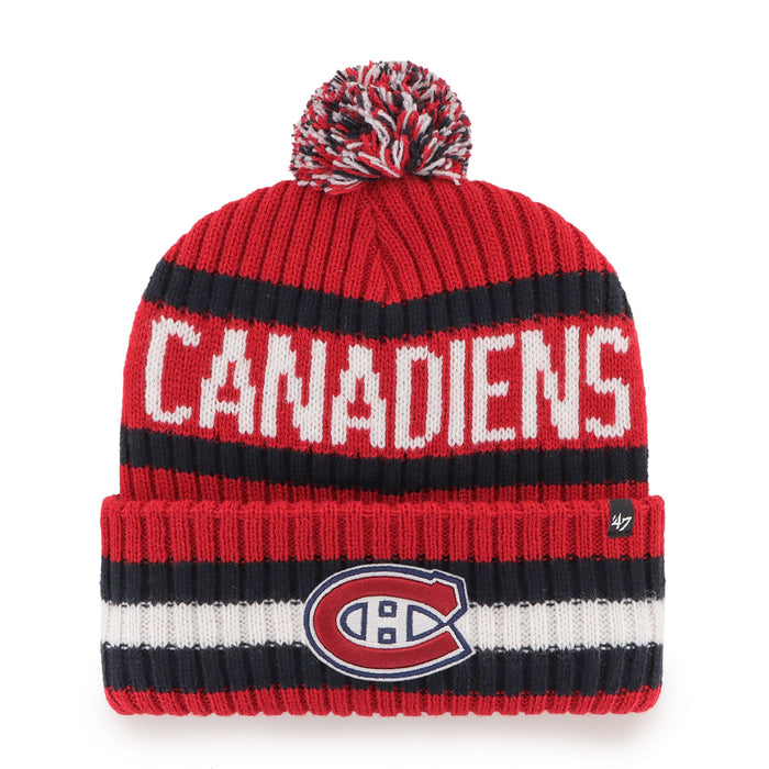 Montreal Canadiens 47 Red Bering Cuff Knit