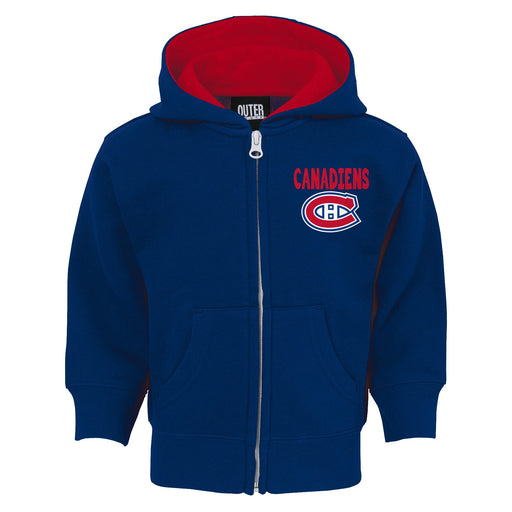 Montreal Canadiens Pledge Full Zip Hoodie