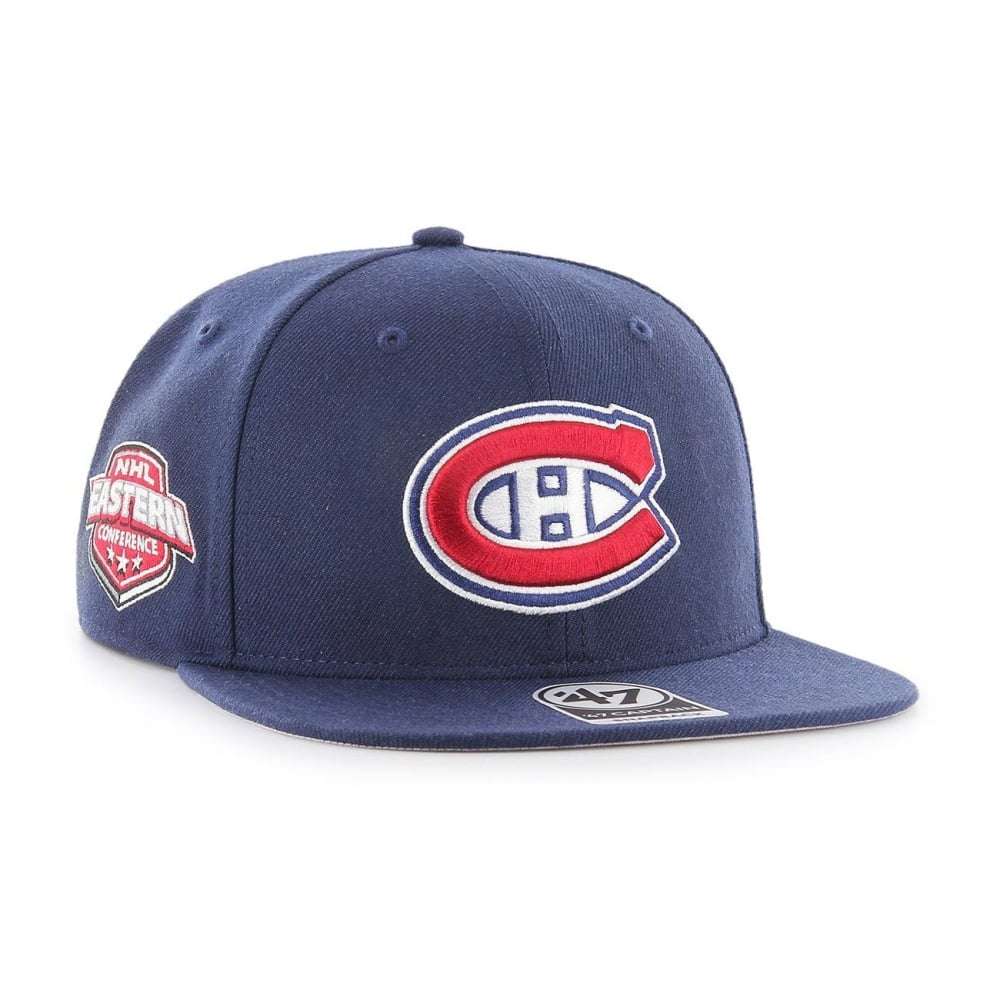 Montreal Canadiens '47 Navy Sure Shot Snapback Hat