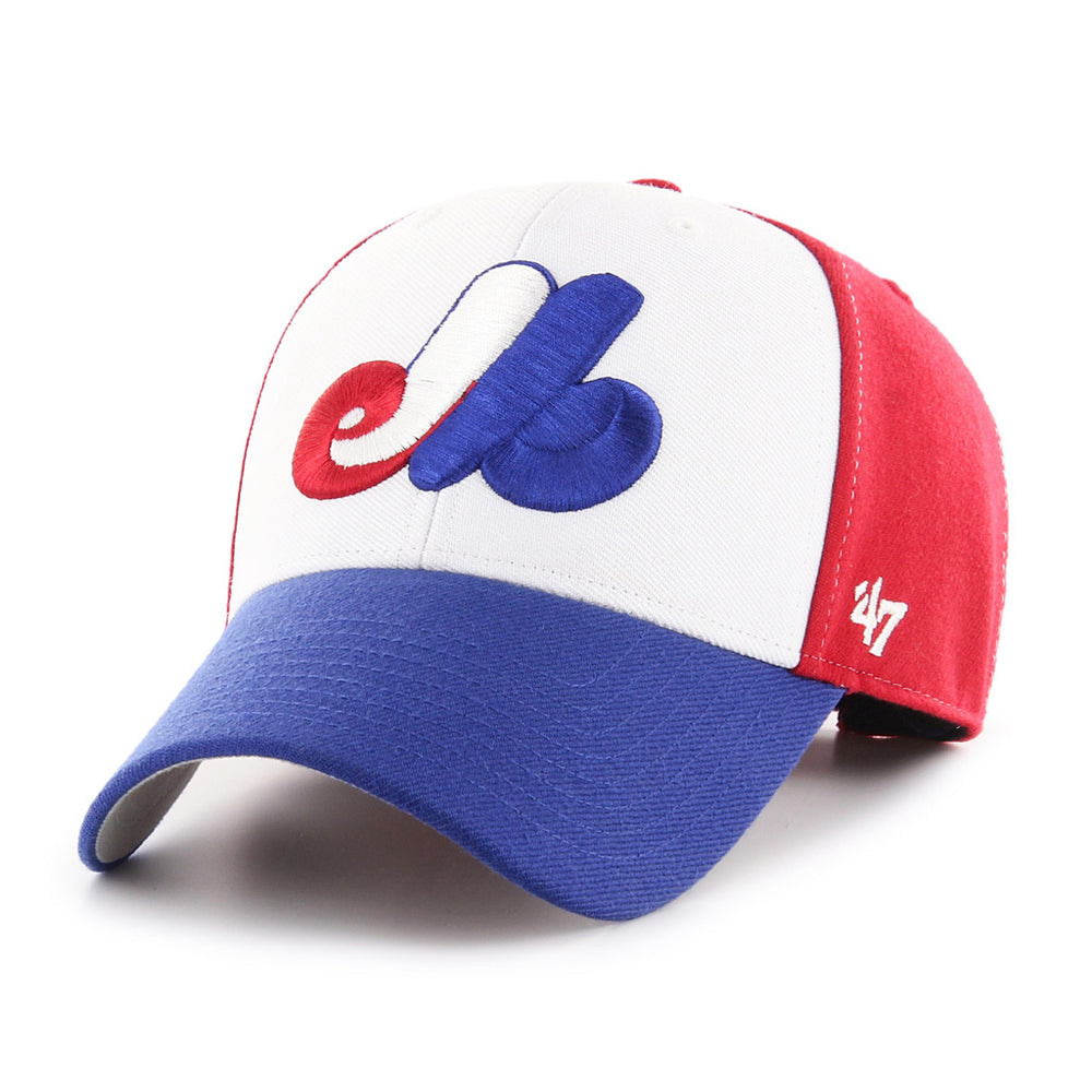Youth Montreal Expos Heritage Tri Color MVP Cap 47 Brand