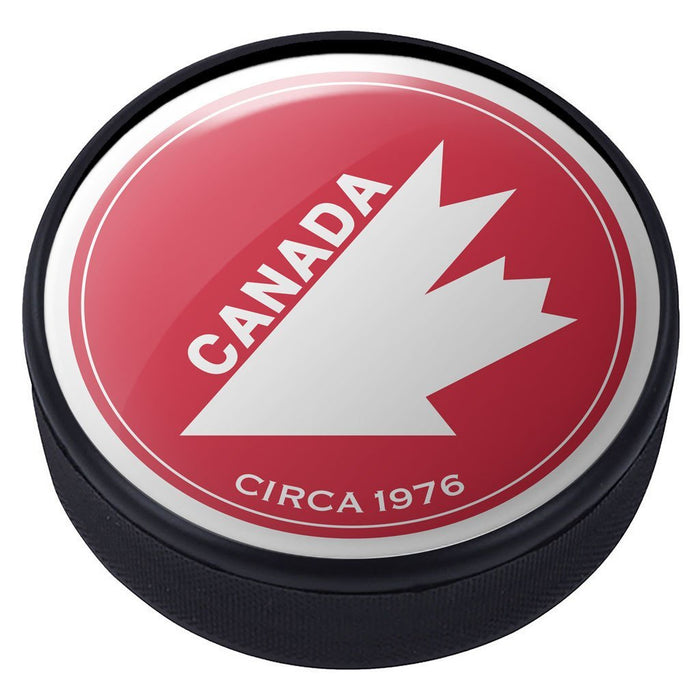 Team Canada Vintage 1976 Domed Puck