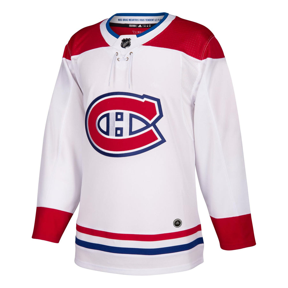 Montreal Canadiens Adidas Adizero Authentic White Away Jersey