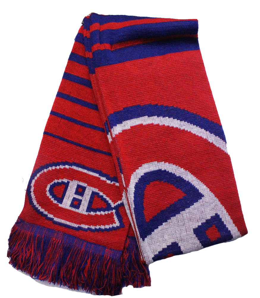 Montreal Canadiens Red Big Logo Scarf