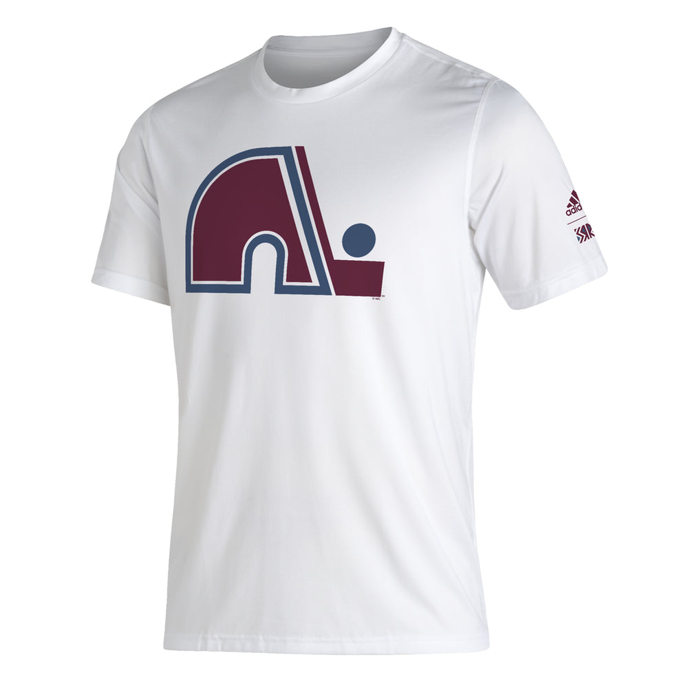 Colorado Avalanche Adidas Reverse Retro White Creator Shirt