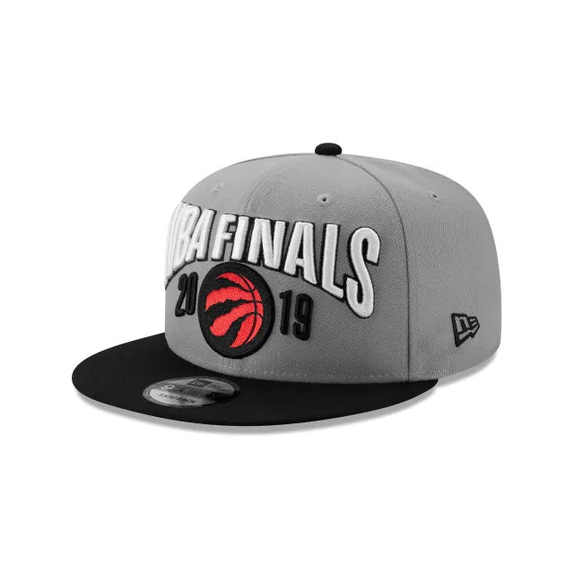 Toronto Raptors New Era 9Fifty Grey NBA Finals Adjustable Hat