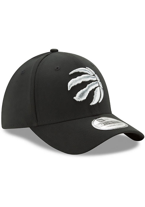 Toronto Raptors New Era 39Thirty Black Classic Stretch Fit  Hat