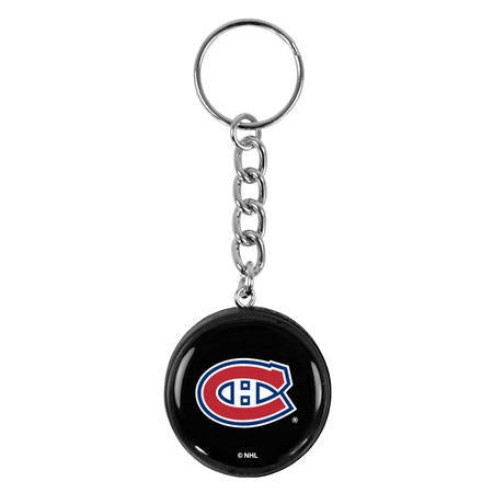 Montreal Canadiens Hockey Puck Keychain