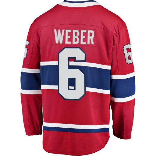 Shea Weber 6 Montreal Canadiens Youth Red Premier Jersey