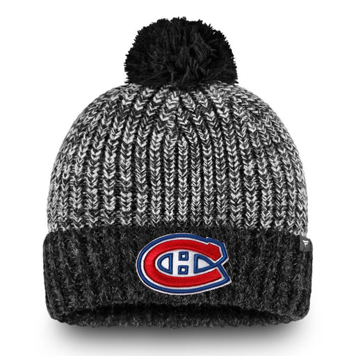 Montreal Canadiens Fanatics Women's Grey Ace Knit Pom Hat