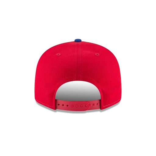 Montreal Expos New Era 9FIFTY Cooperstown Tricolor Snapback