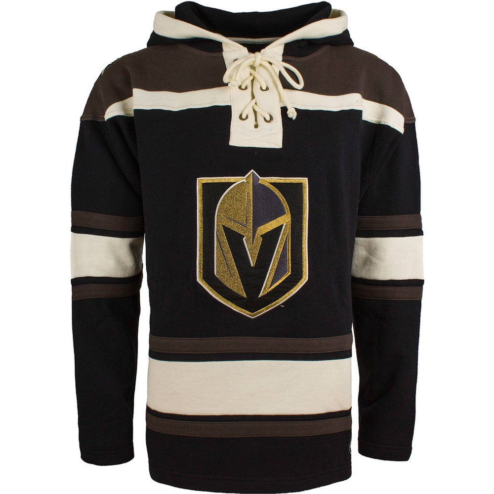 Las Vegas Golden Knights 47 Black Heavyweight Lacer Hoodie