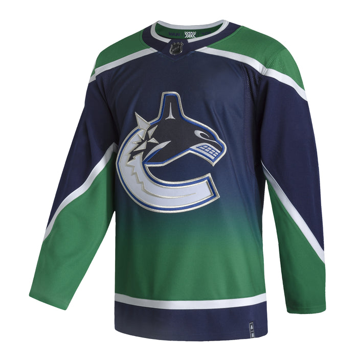 Vancouver Canucks Adidas Reverse Retro Authentic Pro Jersey