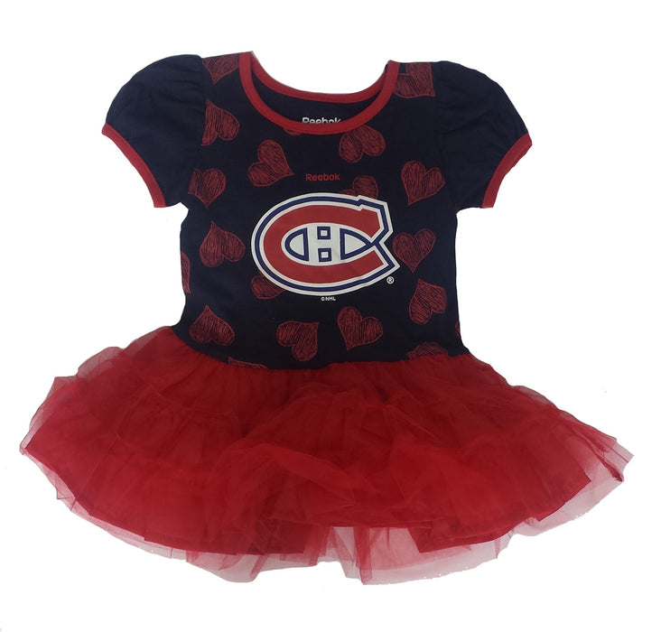 Montreal Canadiens Girls Reebok Dress Tutu