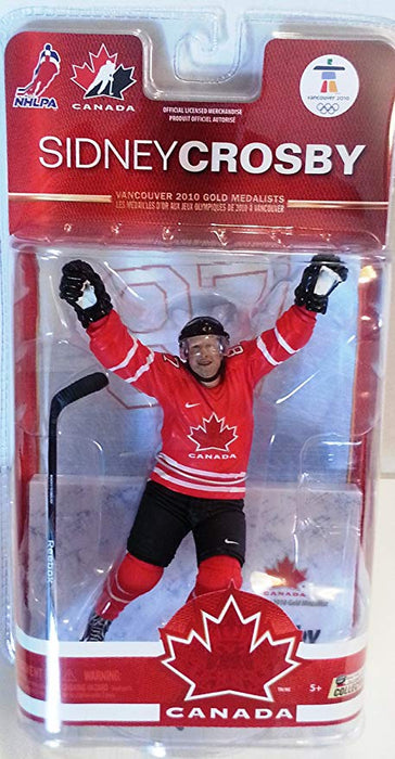 Sidney Crosby Team Canada Vancouver 2010 Golden Goal Series 2 Action Figure
