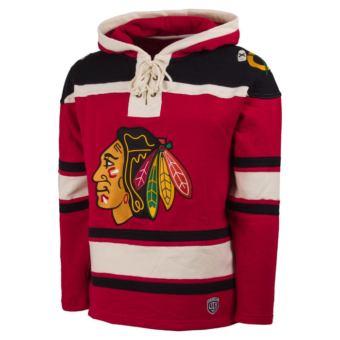 Chicago Blackhawks OTH Red Heavyweight Lacer Hoodie