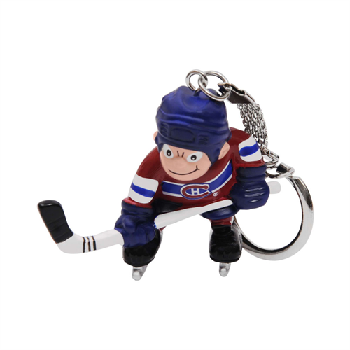 Montreal Canadiens Mini Player Key Chain