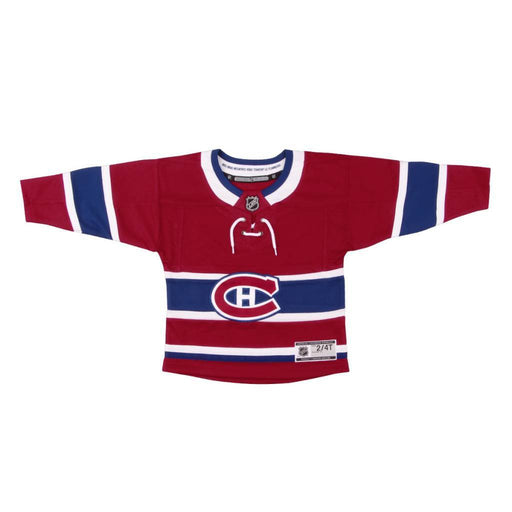 Montreal Canadiens Kids Red Premier Home Jersey