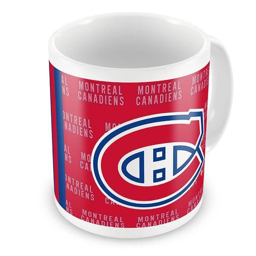 Montreal Canadiens 11oz. Wallpaper Ceramic Mug