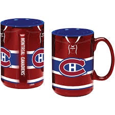 Montreal Canadiens 17oz. Sculpted Ceramic Mug