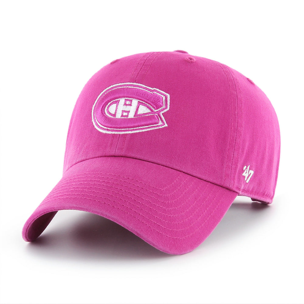 Montreal Canadiens '47 Orchid Clean Up Women's Adjustable Hat
