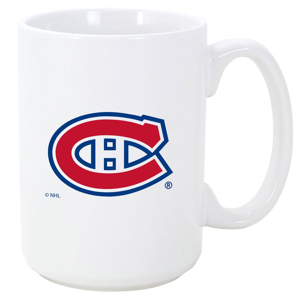 Montreal Canadiens 11oz. El Grande White Ceramic Mug