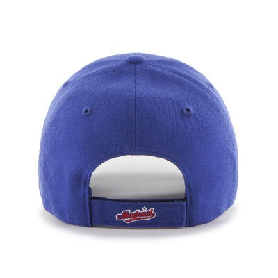 Montreal Expos '47 Royal Blue MVP Heritage Adjustable Hat