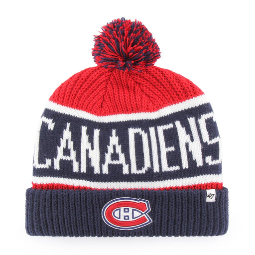 Montreal Canadiens 47 Red Cuff Knit Toque