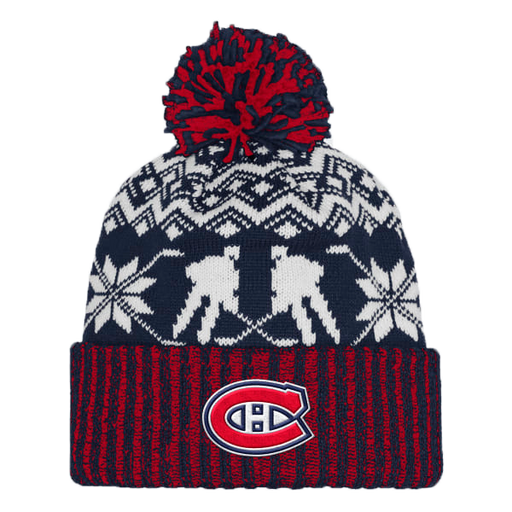 Montreal Canadiens Adidas Snowflake Player Cuffed Knit Hat