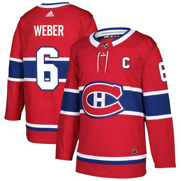 Shea Weber Montreal Canadiens Adidas Authentic Pro Jersey