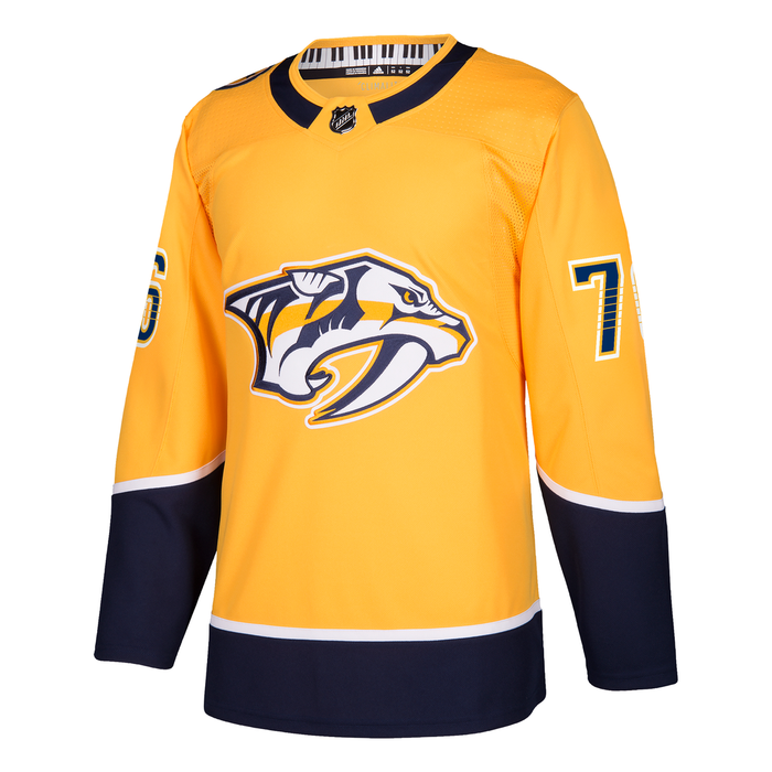 P.K Subban Nashville Predators Adidas Authentic Pro Jersey
